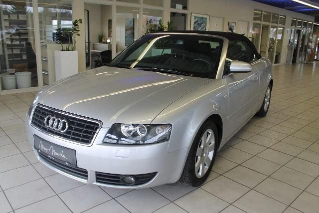 Audi A4 Cabriolet Silber