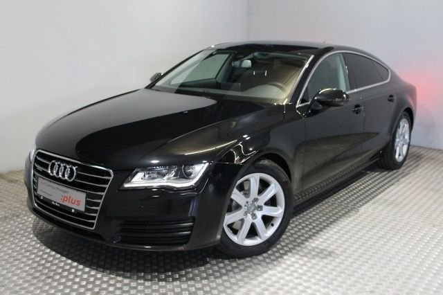 audi a7 sportback schwarz. Black Bedroom Furniture Sets. Home Design Ideas