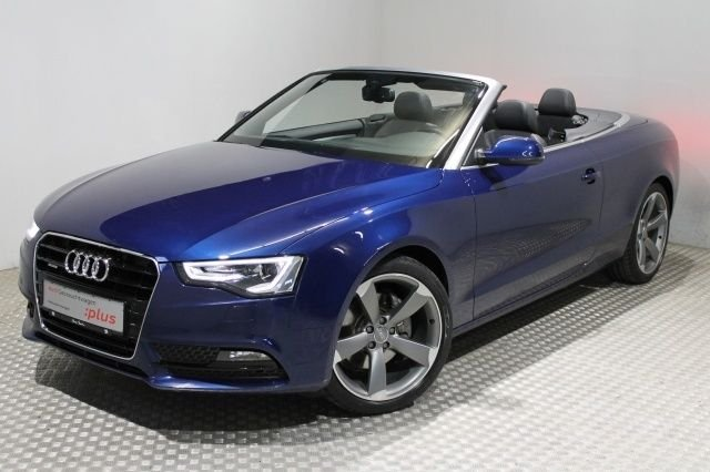 audi audi a5 cabrio blau zu verkaufen. Black Bedroom Furniture Sets. Home Design Ideas