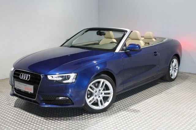 audi audi a5 cabrio blau gebraucht. Black Bedroom Furniture Sets. Home Design Ideas