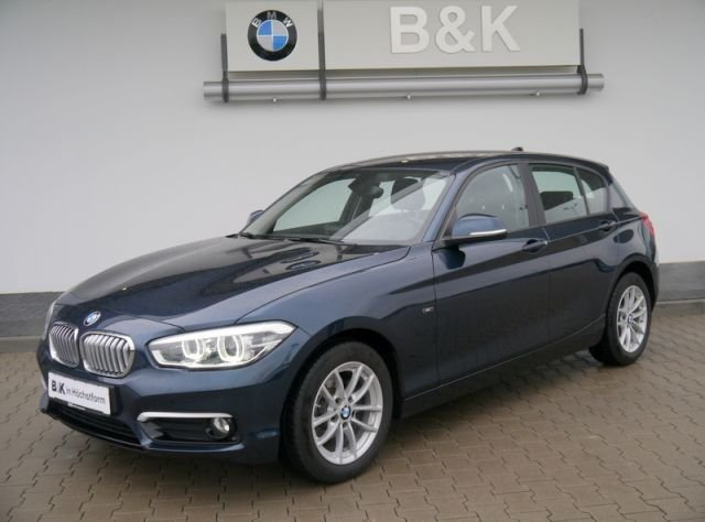 bmw 116d blau gebraucht. Black Bedroom Furniture Sets. Home Design Ideas