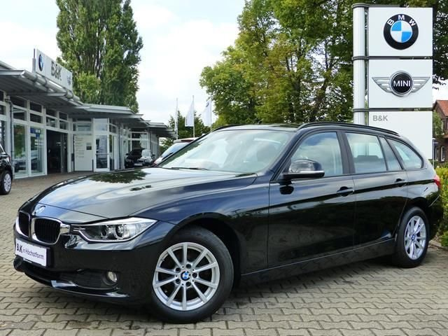 bmw 318d touring schwarz gebraucht. Black Bedroom Furniture Sets. Home Design Ideas