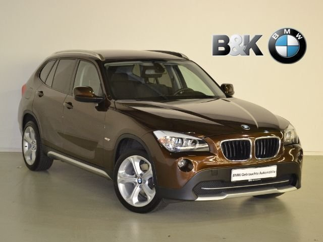 bmw x1 braun zu verkaufen. Black Bedroom Furniture Sets. Home Design Ideas