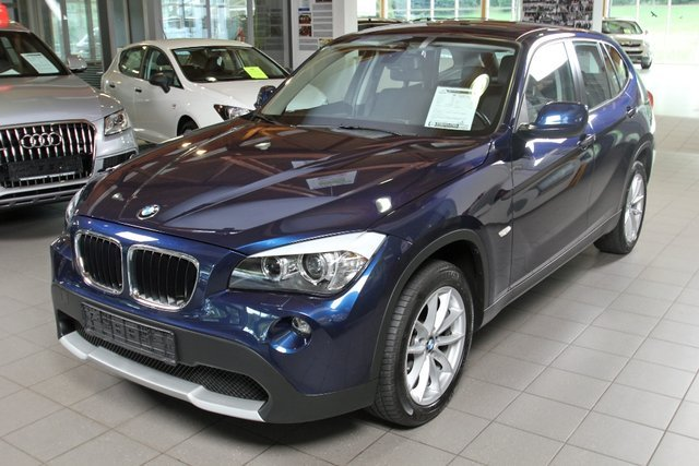 bmw x1 tiefseeblau metallic gebraucht. Black Bedroom Furniture Sets. Home Design Ideas