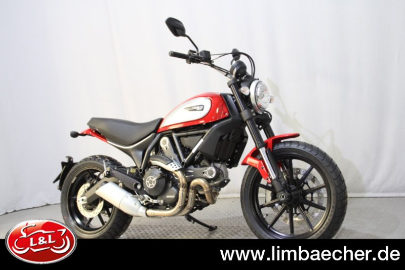 ducati scrambler icon rot zu verkaufen. Black Bedroom Furniture Sets. Home Design Ideas