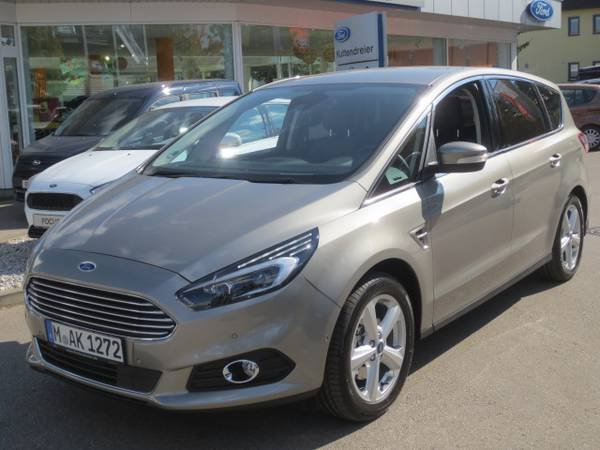 Ford S Max Perl Silber Metallic