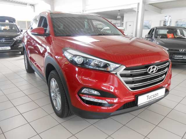 Hyundai Tucson Ultimate Red Metallic