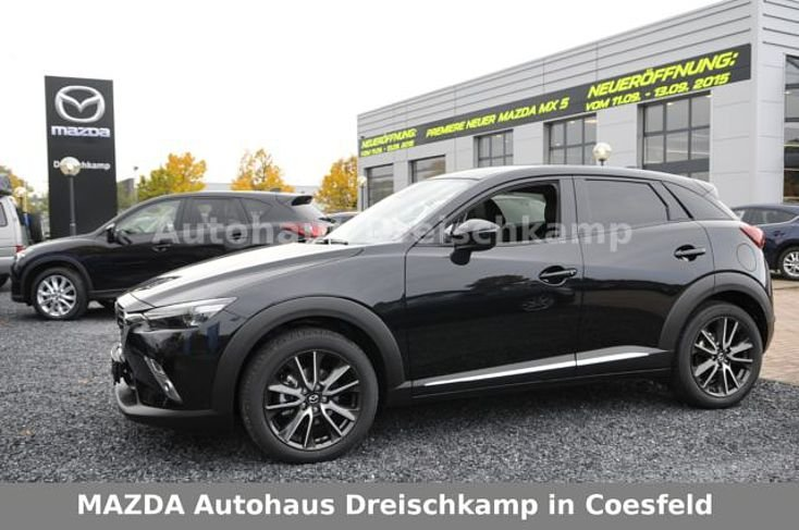 mazda cx 3 onyxschwarz metallic gebraucht. Black Bedroom Furniture Sets. Home Design Ideas