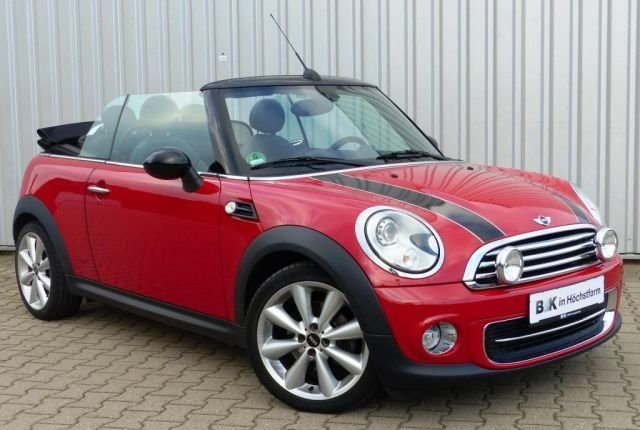 mini cooper cabrio rot. Black Bedroom Furniture Sets. Home Design Ideas
