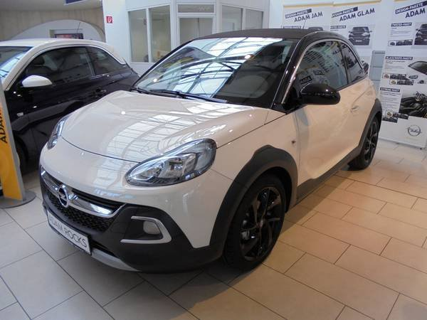 opel adam rocks cream white gebraucht. Black Bedroom Furniture Sets. Home Design Ideas