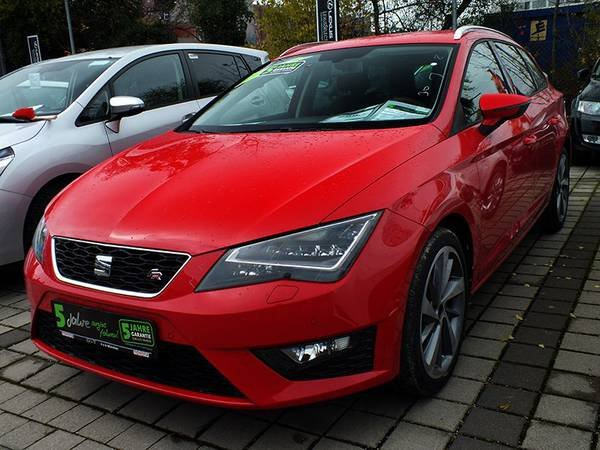 seat leon st gebraucht seat leon st grau metallic. Black Bedroom Furniture Sets. Home Design Ideas