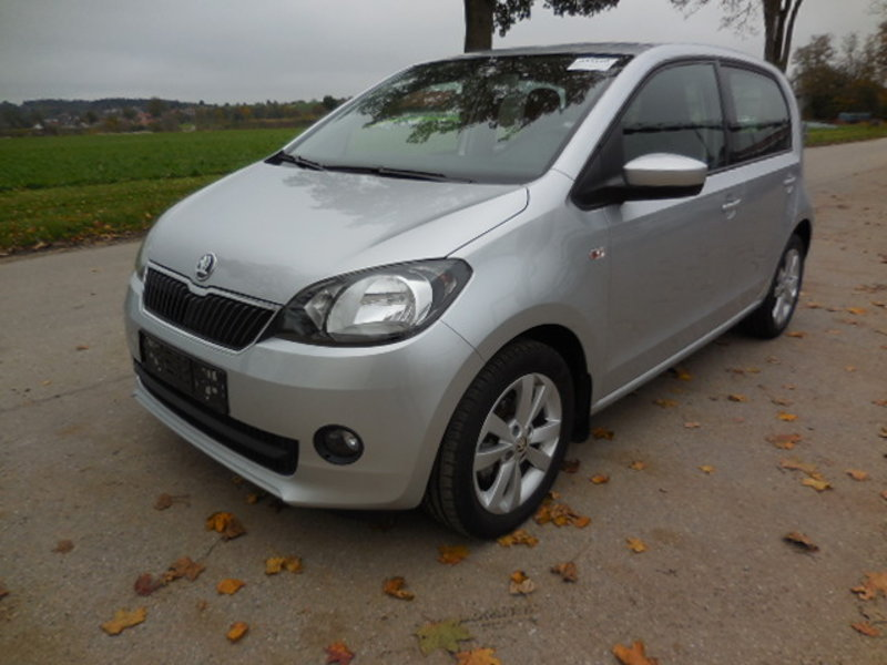 Skoda Citigo Brilliantsilber Metallic