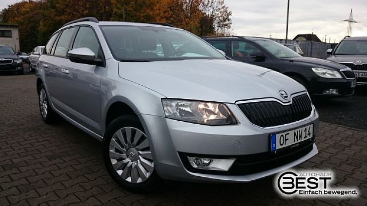 skoda octavia combi brillant silber metallic gebraucht. Black Bedroom Furniture Sets. Home Design Ideas
