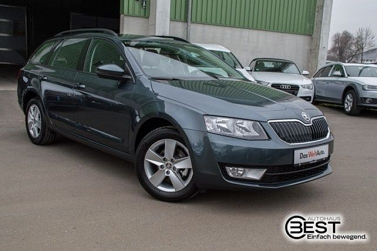 skoda octavia combi quarz grau gebraucht. Black Bedroom Furniture Sets. Home Design Ideas