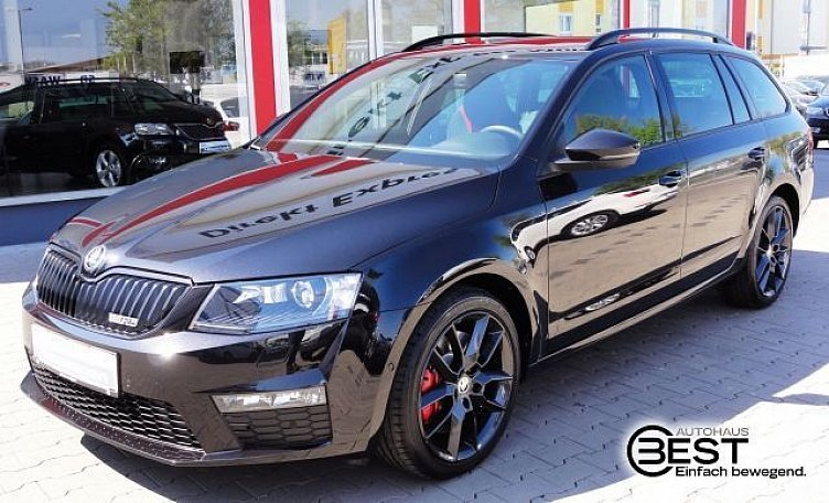 skoda octavia combi rs rs ausstattung. Black Bedroom Furniture Sets. Home Design Ideas