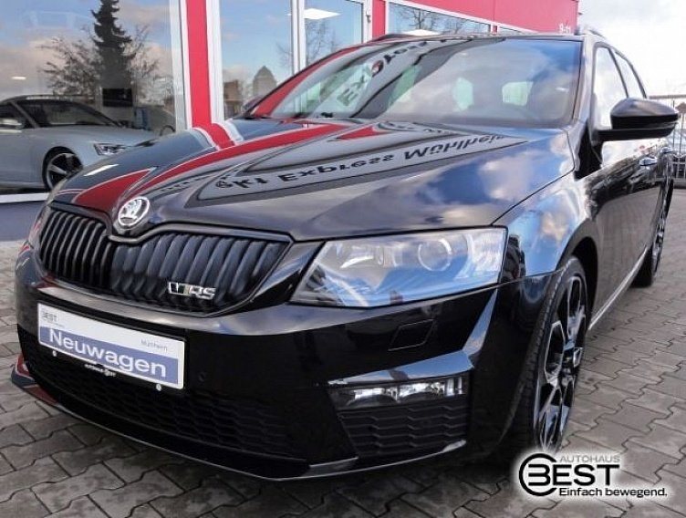 skoda octavia combi rs black magic perleffekt gebraucht. Black Bedroom Furniture Sets. Home Design Ideas