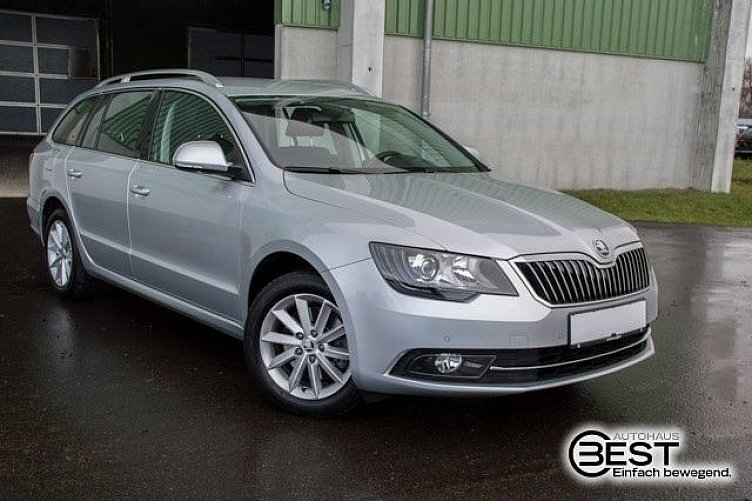 skoda superb combi brillant silber gebraucht. Black Bedroom Furniture Sets. Home Design Ideas