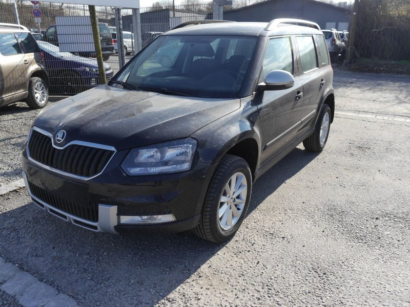 Skoda Yeti Outdoor Blackmagic Perleffekt