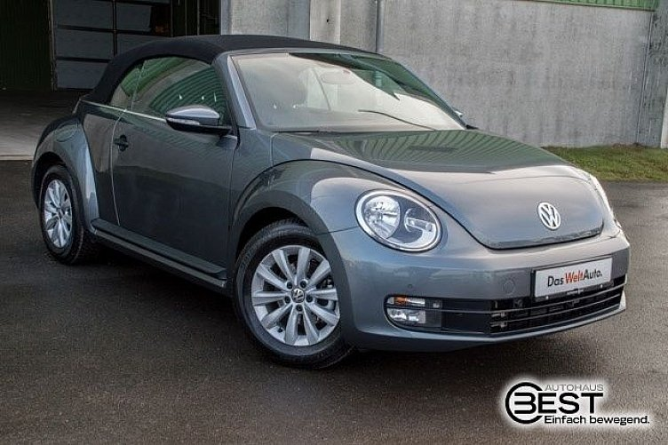 vw beetle cabriolet platinum grey gebraucht. Black Bedroom Furniture Sets. Home Design Ideas