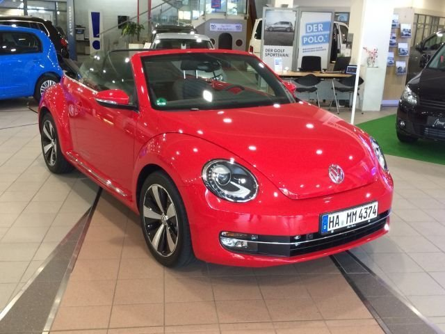 vw beetle cabriolet rot. Black Bedroom Furniture Sets. Home Design Ideas
