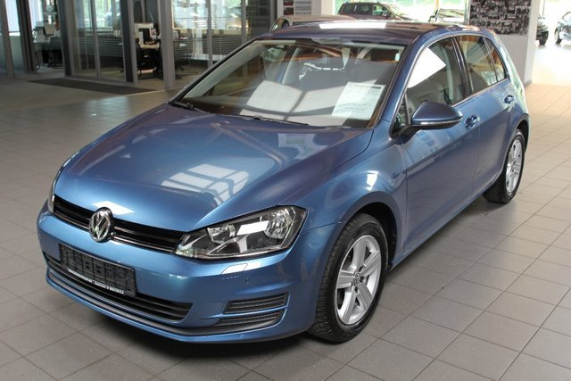 Vw Golf 7 Pacific Blau Metallic