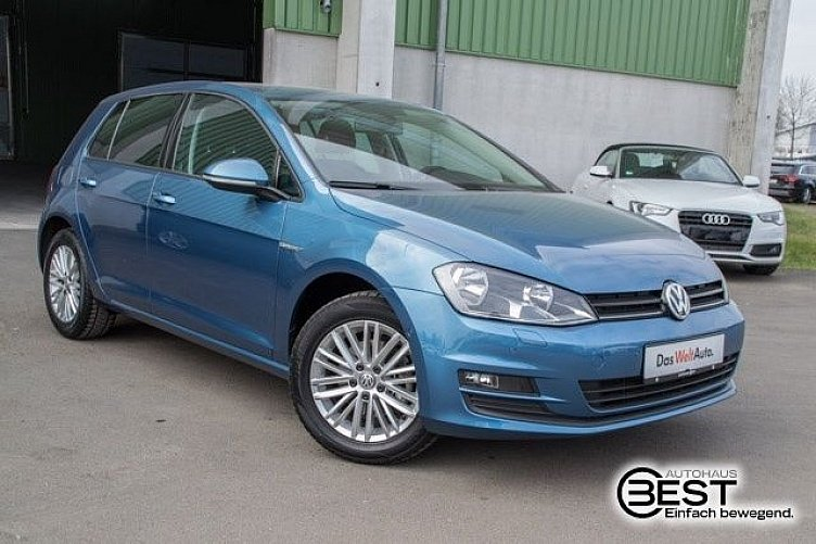 vw golf 7 pacific blue gebraucht. Black Bedroom Furniture Sets. Home Design Ideas