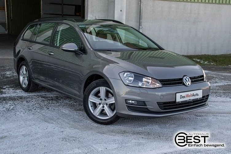 vw golf 7 variant limestone grey gebraucht. Black Bedroom Furniture Sets. Home Design Ideas