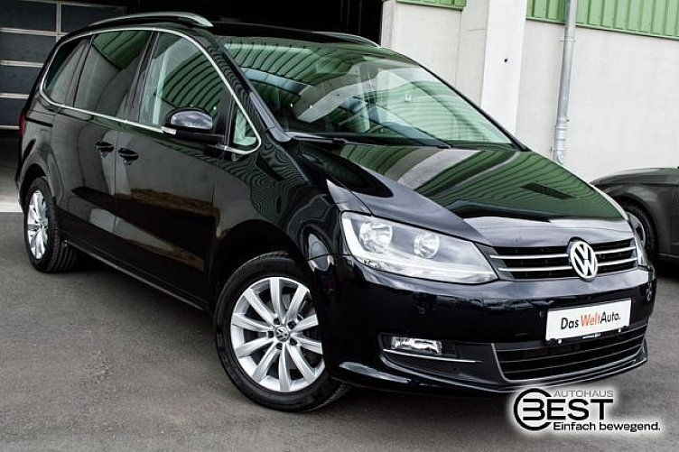 Vw Sharan Deep Black Perleffekt