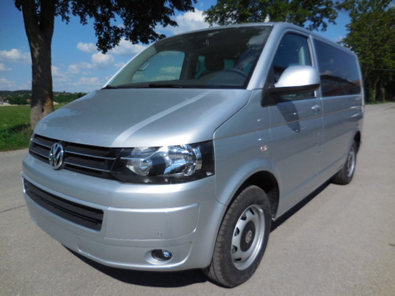 VW T5 Multivan Reflexsilber Metallic