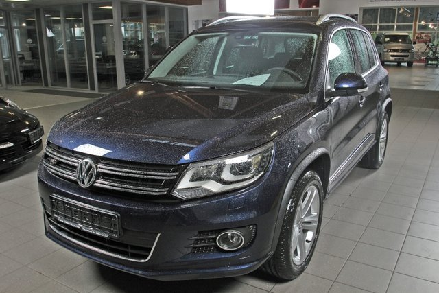 vw tiguan nightblue metallic gebraucht. Black Bedroom Furniture Sets. Home Design Ideas