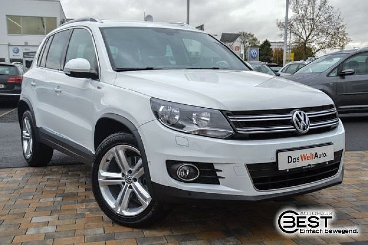 vw tiguan pure white. Black Bedroom Furniture Sets. Home Design Ideas