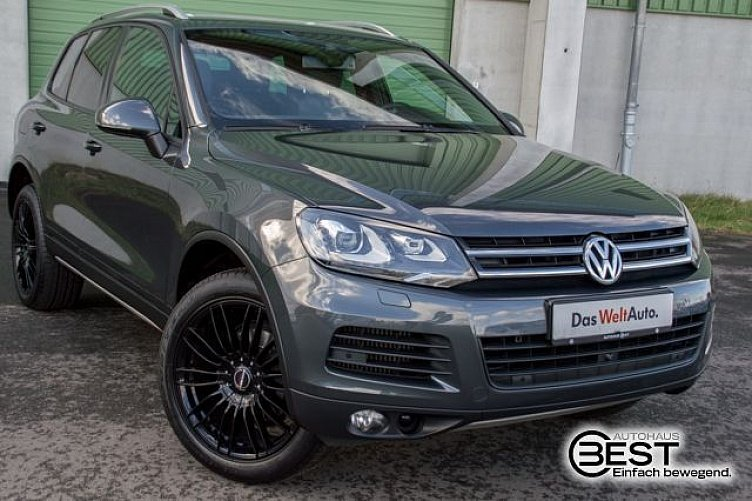 vw touareg dark flint grey gebraucht. Black Bedroom Furniture Sets. Home Design Ideas