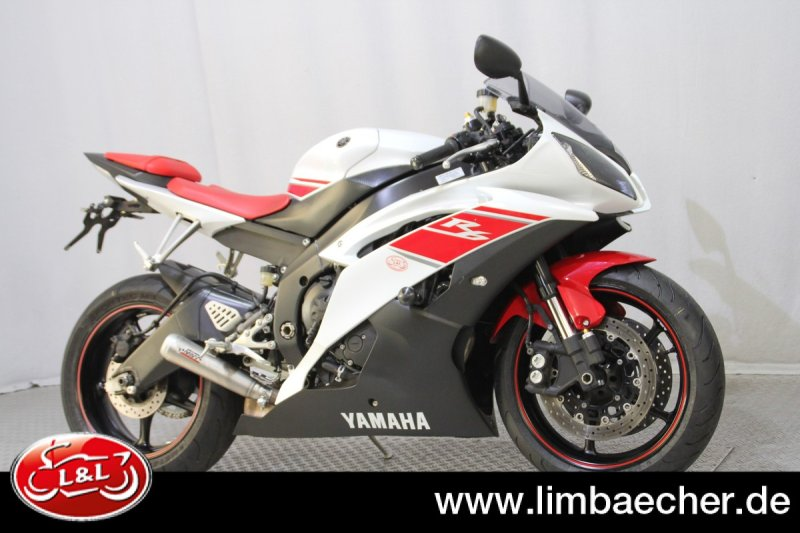 yamaha yzf r6 rj15 wei rot gebraucht. Black Bedroom Furniture Sets. Home Design Ideas